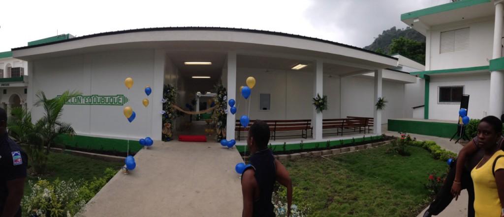 Second hospital in Haïti