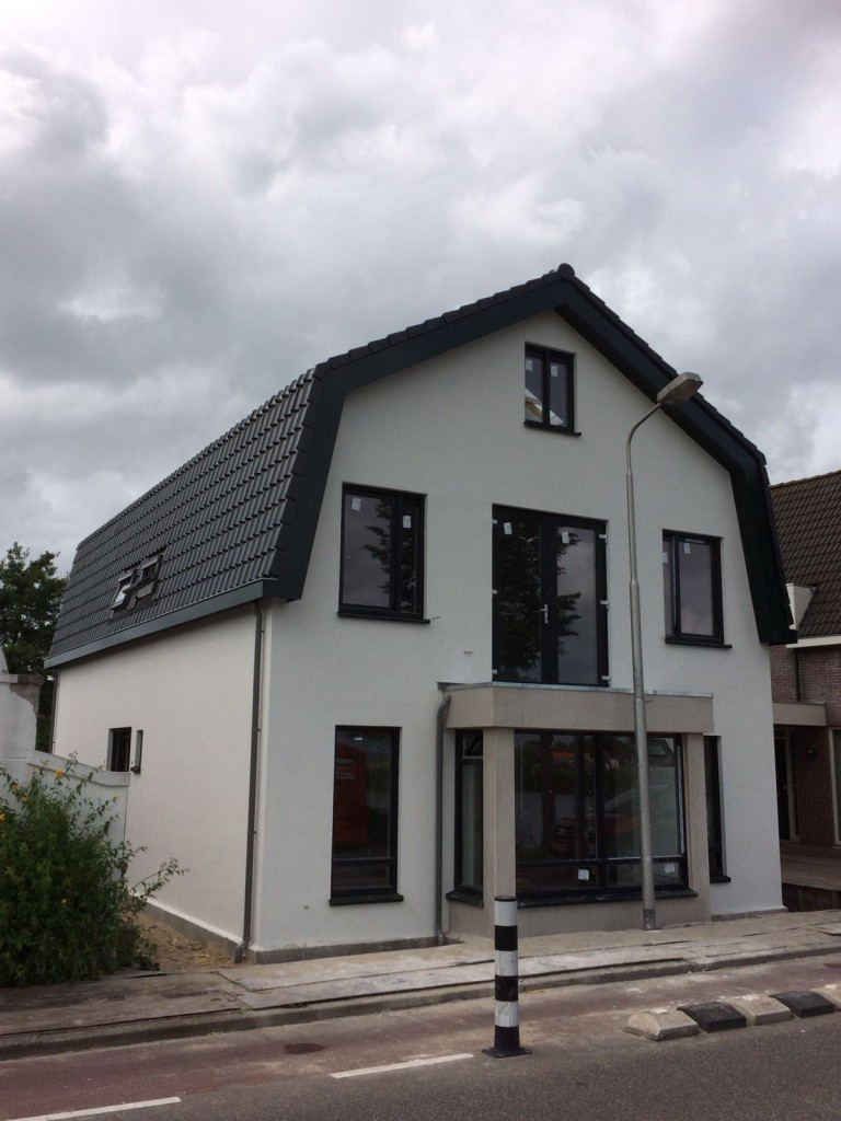 A new house build in Nes aan de Amstel