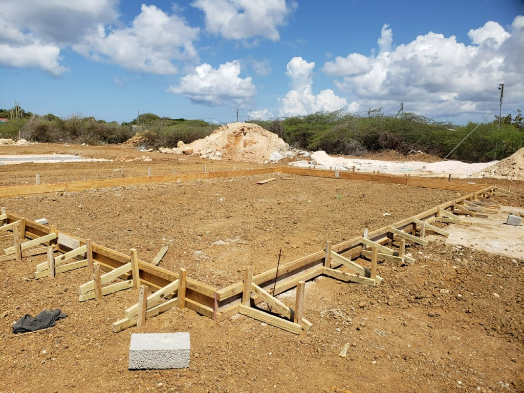 We started a new project in Bonaire